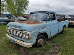 100 F100 Ford Truck 1959 For Sale ClassicCarscom CC1016646