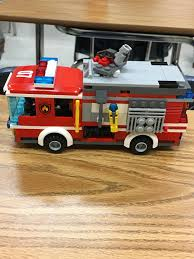 100 Lego Fire Truck Games Custom Lego City Pumper Truck Made From Chassis Of 60107