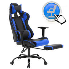 BestMassage PC Gaming Chair Ergonomic Office Chair Desk Chair With Lumbar  Support Arms Headrest Modern Rolling Swivel Computer Chair For Back Pain ...