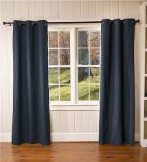 Grommet Insulated Curtain Liners by Thermalogic Insulated Solid Panel Curtains Plow U0026 Hearth