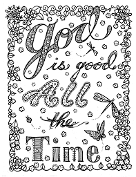 God Is Good Inspirational Messages Of Hope Adult Coloring Book Wonderful Uplifting That