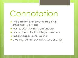 Denotation and Connotation ppt video online