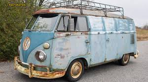American Pickers' Star Mike Wolfe Is Auctioning His 1962 VW Van ... Revell Vw Typ 2 T1 Samba Bus Old Volkswagen Pickup Truck Type Pickups And Panel Buy Ravensburger Kombi Food 3d 162pc Roof Rack Van Truck Safari Vw T4 Transporter Caravelle Canoe In Food Campervan Crazy Commercial Success Blog Circa 1960s Wikipedia Launches Etransporter Ecaddy Electric Vans At 2018 Iaa Binz Double Cab Bought By Matt Jacobson Insidehook Camper Van Fire Engine Stock Photo 61563237 1968 Vw Pick Up Painted Fleece Blanket For Sale Rich