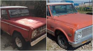 Vote For Your Choice: Bronco Or Blazer Project?   Barn Finds ... 1972 Chevrolet Blazer For Sale 2130360 Hemmings Motor News 1978 Restore A Muscle Car Llc Vote For Your Choice Bronco Or Project Barn Finds Front Winch Bumper Fits Chevy Gmc K5 Blazer Truck 681972 Only 1990 Used V1500 4wd At Webe Autos Serving Long Blazer Diesel Truck Cozot Cars Past Truck Of The Year Winners Trend Interior Door Panels And Parts Sale Amt Crew Chief Nearing Completion Model Cars Trucks 69 Chevy K5 Pinterest Blazers 4x4 Photos History From Truckbased Suv To Tow Pulls A Chevy Out Old River South Stock