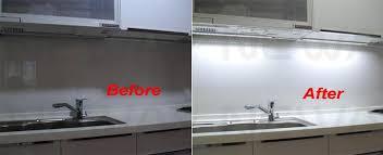 led kitchen lighting 4 x led kitchen light cupboard doors cabinet