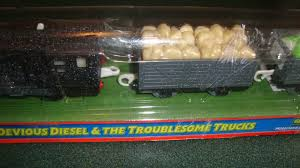100 Trackmaster Troublesome Trucks DEVIOUS DIESEL AND THE TROUBLESOME TRUCKS TRACKMASTER TRAIN