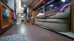 Best Type Of Flooring For Rv by Diy Rv Laminate Flooring Install U0026 Custom Mods From Start To