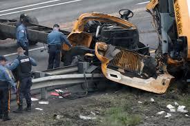Two Dead, 43 Injured In New Jersey School Bus, Dump Truck Crash ...
