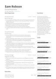 Pharmacist - Resume Samples And Templates | VisualCV Director Pharmacy Resume Samples Velvet Jobs Pharmacist Pdf Retail Is Any 6 Cv Pharmacy Student Theorynpractice 10 Retail Pharmacist Cover Letter Payment Format Mplates 2019 Free Download Resumeio Clinical 25 New Sample Examples By Real People Student Ten Advice That You Must Listen Before Information Example Manager And Templates Visualcv