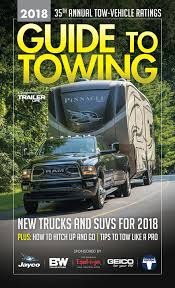 Get The Ultimate RV Towing Guide For 2018 — Trailer Life's Guide ... Truck Towing Capacity 1920 Car Release And Reviews 2019 Jeep Scrambler Jt Pickup Weight Tow Payload Ratingsand What They Really Mean Youtube Trying To Figure Rams Tow Ratings And Trim Levels These 4 Things Impact A Ram Trucks Rating Terminology Definitions Trend Equipment Positioning Critical When With Pickups Chevy Trailering Guide Chevrolet 2017 Ford Super Duty Overtakes 3500 As Towing Champ Nissan Titan Crew Cab Gets 9390pound Autoguide Chart Vehicle Gmc Might You With The 2015 Colorado Canyon
