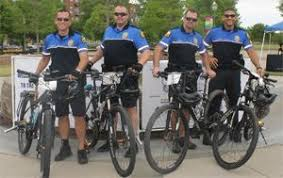 Flower Mound Police Bike Unit Members