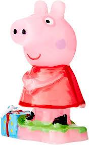 dekora 346089 kerze mit peppa pig design 7 5 cm