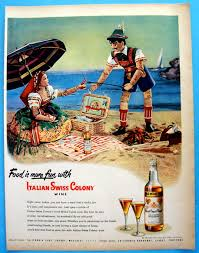 Vintage Ad: 1948 Italian Swiss Colony California Sherry ...
