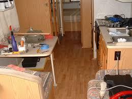 Installing Laminate Floors In Kitchen by Rv Laminate Flooring Modmyrv