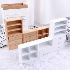 1 12 puppenhaus miniaturmöbel diy wohnzimmer schrank mit 4 sectiktpxuiwp4xui