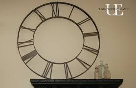 DIY Pottery Barn Inspired Wall Decor Clock Face Unexpected Elegance