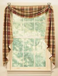 Country Valances For Living Room by Shop Amazon Com Window Swags