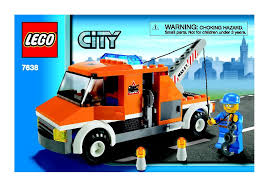 Instructions For 7638-1 - Tow Truck | Bricks.argz.com