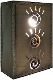 Mexican Punched Tin Lamp Shades by 212 Best Hacienda Illumination Images On Pinterest Chandeliers