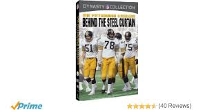 Original Iron Curtain Steelers by Amazon Com Nfl Pittsburgh Steelers Behind The Steel Curtain