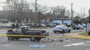 100 Bayshore Truck LI Man Killed In Twotruck Crash In Bay Shore Police Say Newsday