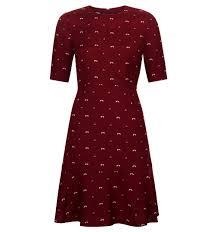 purple elle dress casual dresses dresses hobbs