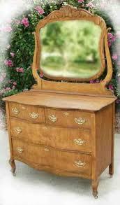 Tiger Oak Serpentine Dresser by Antique Oak Dresser Triple Serpentine Front With Mirror