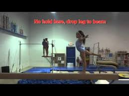 usag level 3 balance beam tutorial 2013 2021 new routines youtube