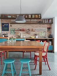cuisine de caractere les cuisines se mettent au bleu visitedeco