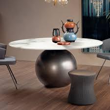 bonaldo runder esstisch in modernem design für dein