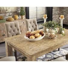 mestler dining table weathered pine signature design by ashley