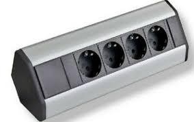 details zu steckdose küche einbausteckdose 4 fach steckdosenleiste arbeitsplatte büro top