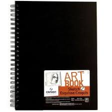 CANSON Universal Sketchbook This paper pad features a versatile