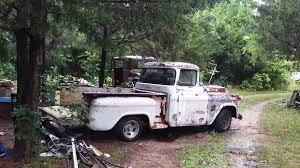 100 Chevy Stepside Truck For Sale 1955 Apache Short Bed Pickup Big Back Glass