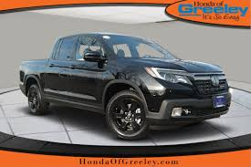 New 2019 Honda Ridgeline Black Edition Crew Cab Pickup In Greeley ... Greeley Gmc Dealers Buick Dealership New Used Weld County Garage Is A Dealer And 2019 Ram 1500 For Sale In Co 80631 Autotrader Truck City Service Appoiment Greeting Youtube Chevy Colorado Vs Silverado Troy Shoppers Honda Ridgeline Black Edition Crew Cab Pickup Toyota Trucks Survivor Otr Steel Deck Scale Scales Sales Drilling In Residential Becoming A Reality Kunc Wash Co