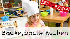 backe backe kuchen singen tanzen und bewegen kinderlieder