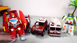 TRANSFORMERS RESCUE BOTS, MAXX ACTION FIRE & RESCUE FIRE TRUCK ...