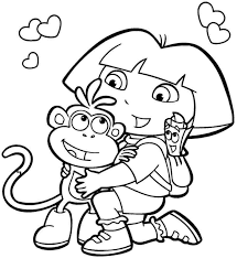 Free Printable Cartoon Coloring Pages Funycoloring