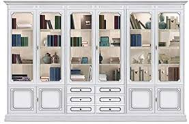 vitrine wohnwand breite 3 meter im klassischen stil