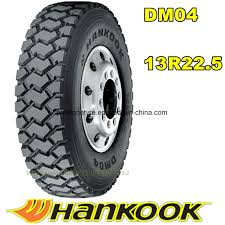 100 Hankook Truck Tires China Dm04 Am09 Dm09 TBR Tire Tyre 13r225 31580r225