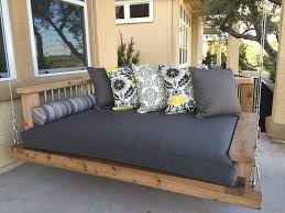 Wooden Porch Swings Cushions — Home Design Ideas Wooden Porch