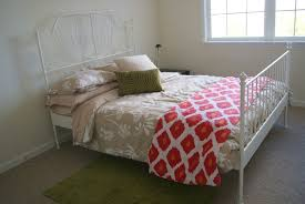 leirvik bed frame house pour how to build a guest room in one day for minimal