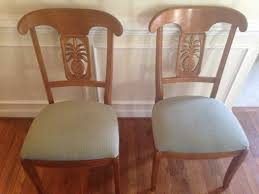 Ethan Allen Pineapple Dining Room Chairs by Pair Of Ethan Allen Legacy Pineapple Side Chairs Excellent Used