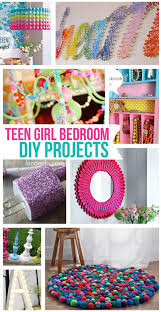 So Many Fun Projects For The Teen Girl Bedroom In Your House And Best Part Is Teenager Can Do Them All Herself