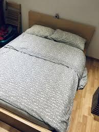 bett 140 doppelbett 140x200 schlafzimmer ikea malm lattenrost