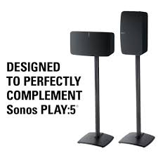 Sonos Ceiling Speaker Recommendation by Premium Speaker Stand Solution For The Sonos Play 5 Wireless Speaker