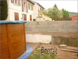 mur de separation exterieur aménagement extérieur mur de séparation avec le voisin
