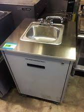 Mobile Self Contained Portable Electric Sink by Used Portable Sink Ebay
