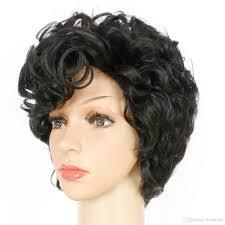 Acheter Mode Perruque De Cheveux Courts Bouclés Pour Les Femmes Afro