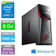ordinateur de bureau asus pas cher pc de bureau gamer pas cher pc bureau msi aegis 033eu pas cher prix